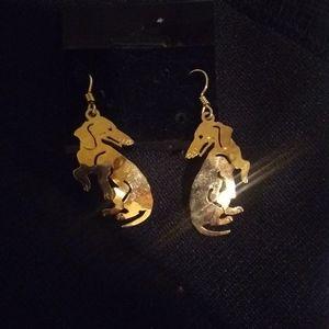 Wild Bryde gold earrings
